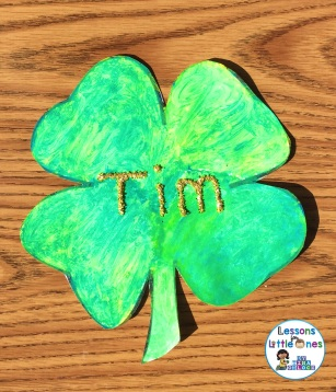 St. Patrick's Day craft - I can make green