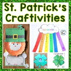 St. Patrick's Day Crafts (Writing Craftivity Pack)