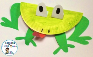 end of the year frog craftivity