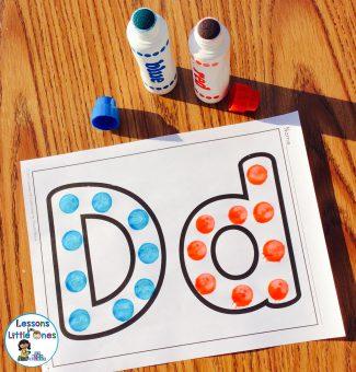 dot painters letters