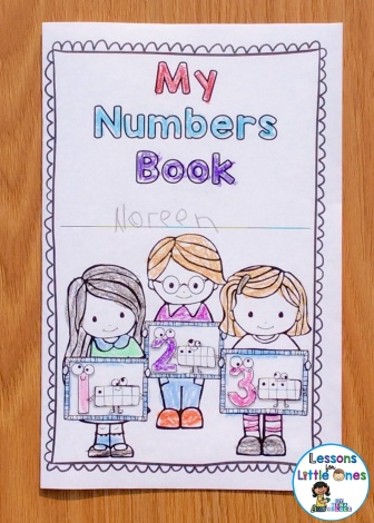 numbers 0-20 brag tag book cover