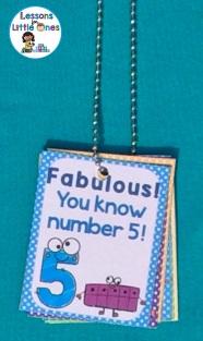 number brag tag necklace