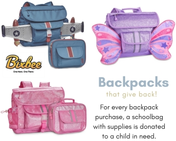 Backpacks that give back