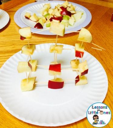 apple tower STEM challenge
